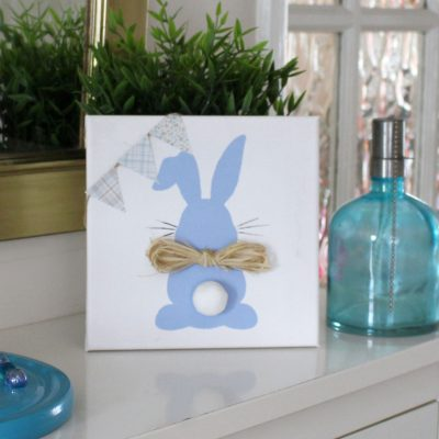 Easy Easter Bunny Canvas