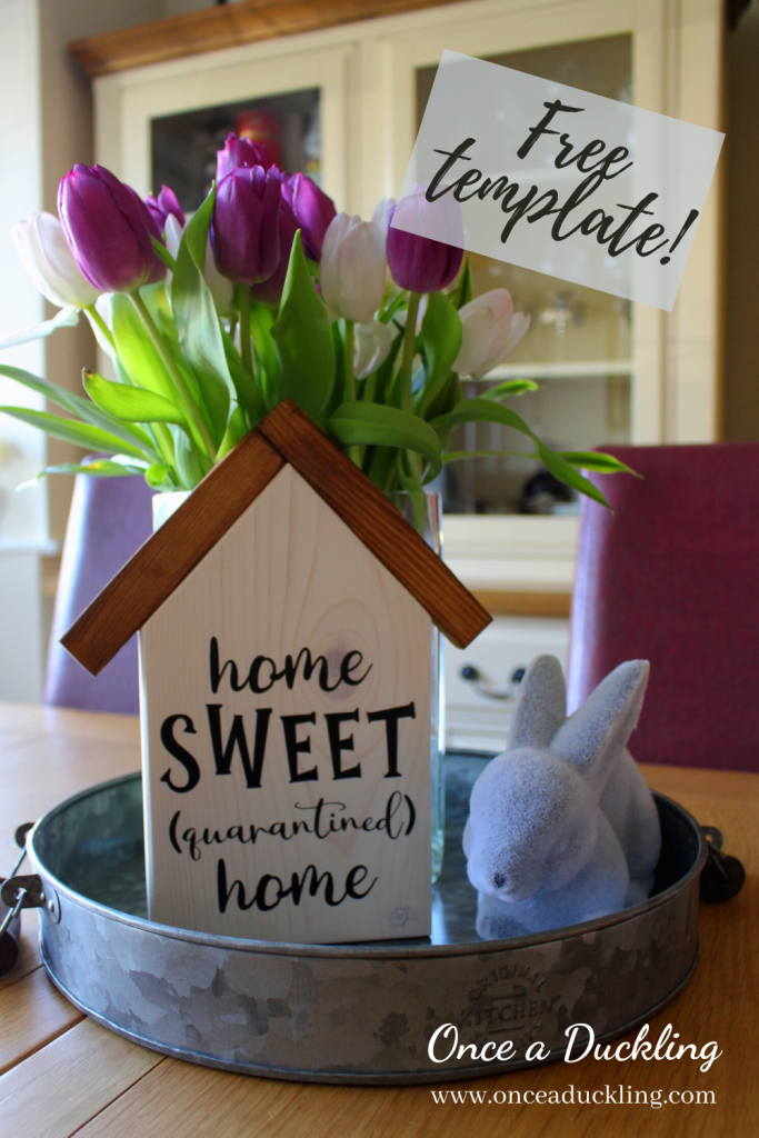 I don't know about you, but Home Sweet Home has take on a whole other level during this corona crisis. For a quirky take on the traditional Home Sweet Home sign, check out this free printable download. You know, just to add a bit of quirk to your home decor while we're all cooped up indoors!