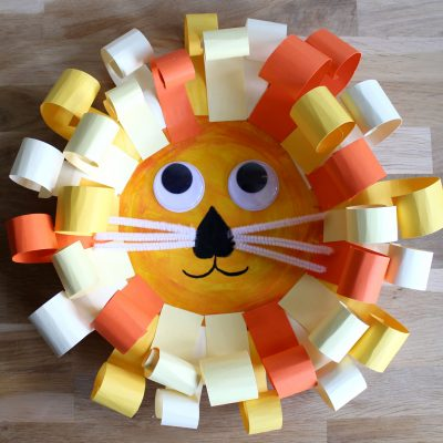 Let's make a Paper plate Lion