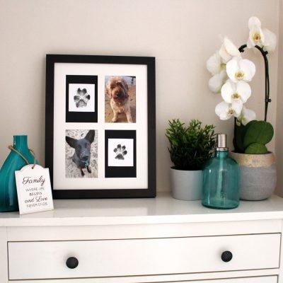 Create your own Mess Free Paw Print Keepsake