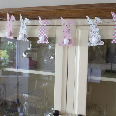 Last minute Easter Bunny Bunting
