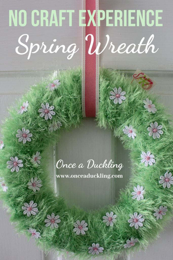 There is something about inviting a bit of Spring into your home to make you feel happier. And this DIY wreath is perfect for beginners, or experienced crafters. To have inside your home, or for your front door to greet visitors as they come in. And of course you can adjust it for Easter by simply adding some little bunnies playfully hiding in the grass. If you've always wanted to make a wreath, but weren't sure where to start - this is the one for you!