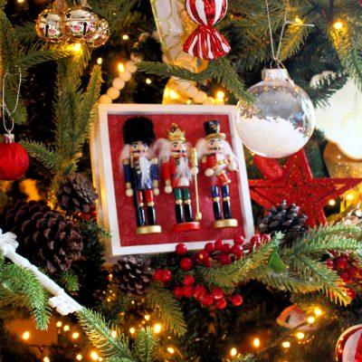 DIY Nutcracker Christmas decoration