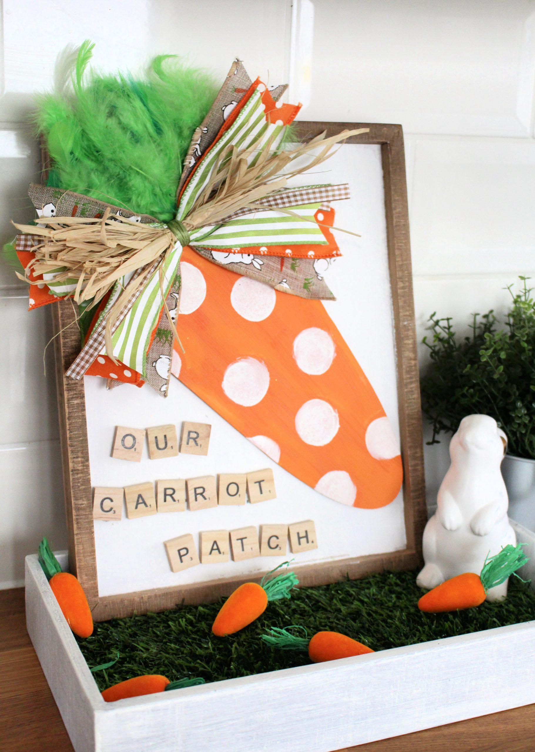 Hobbycraft Carrot Patch sign