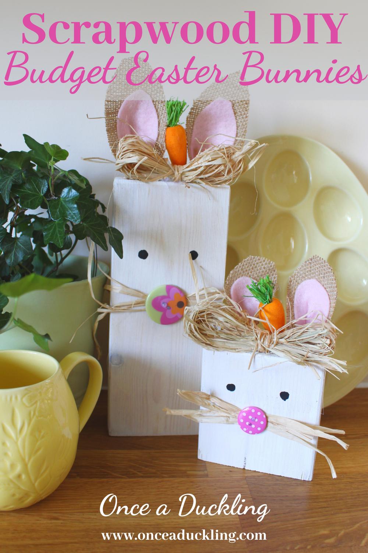 Scrapwood Budget Easter Bunnies