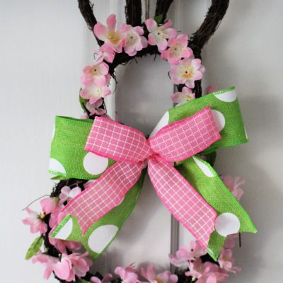 Hobbycraft Bunny Spring Wreath make-over
