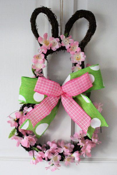 Hobbycraft bunny wreath