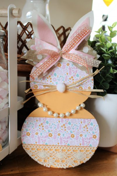 Hobbycraft Bunny Template Spring Easter craft project