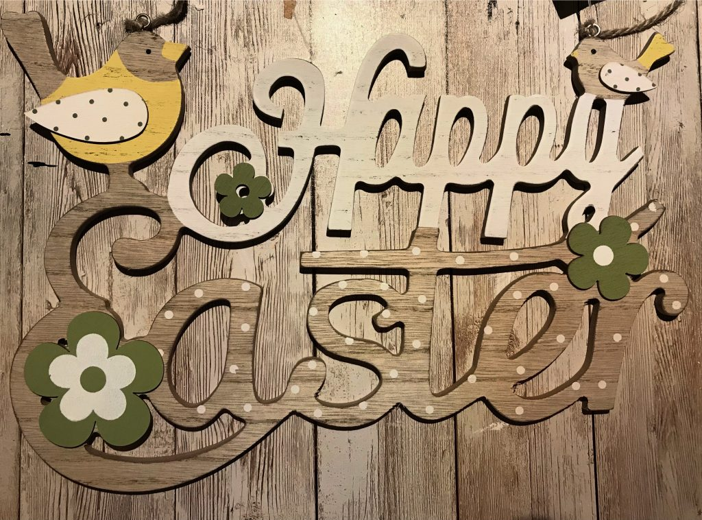 Happy Easter sign from The Range
