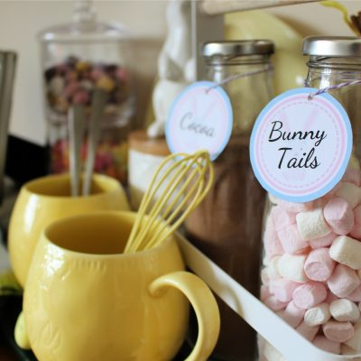 Welcome to Cottontail Cafe – Hot cocoa bunny bar