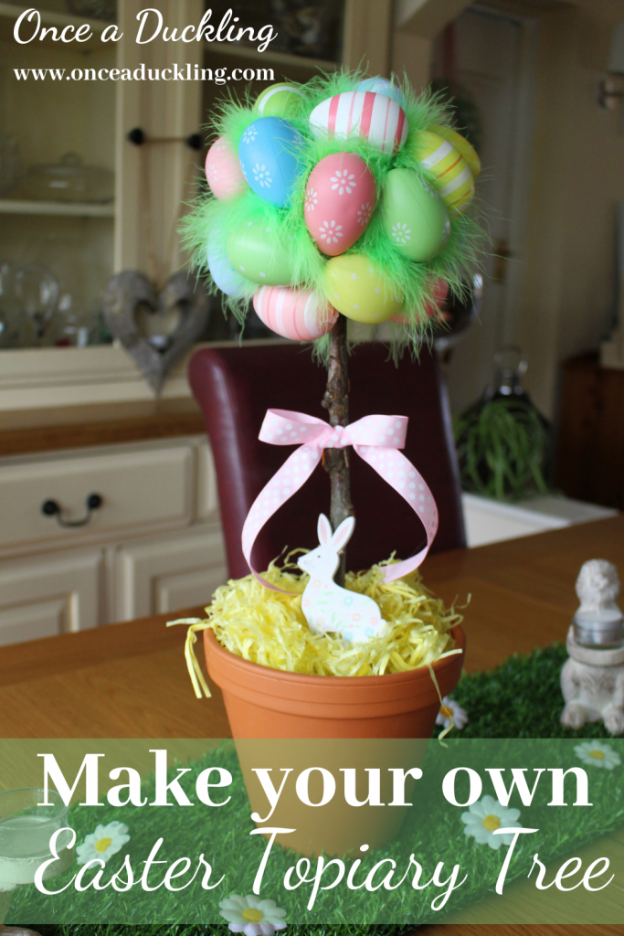 Make your own Easter Topiary Centrepiece