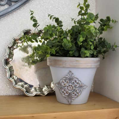 I'm using WoodUbend to transform this planter!