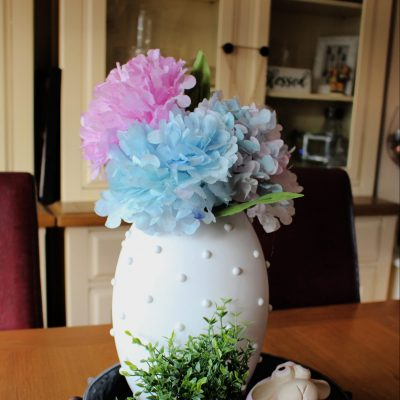 How to make hydrangea flowers out of coffee filters