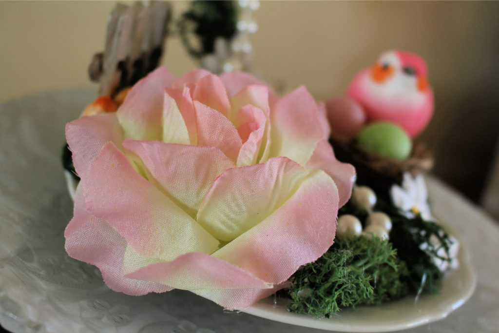 Floating cup and saucer craft project