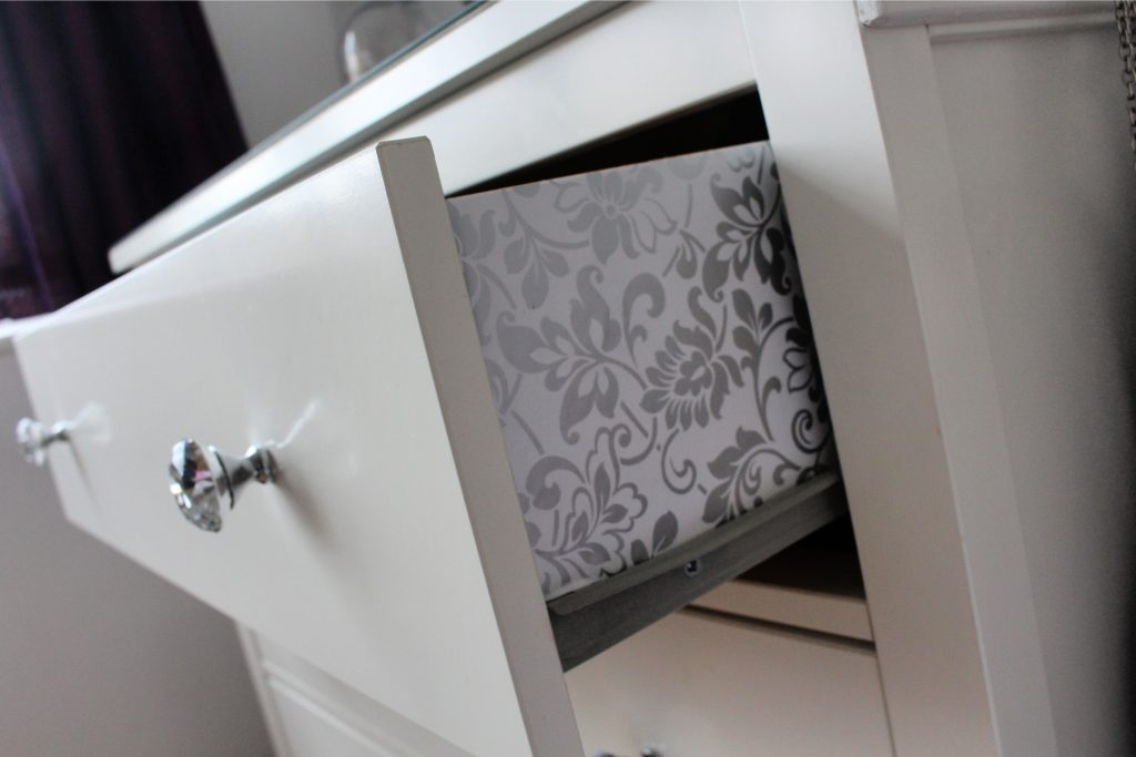 IKEA Hemnes dresser makeover project