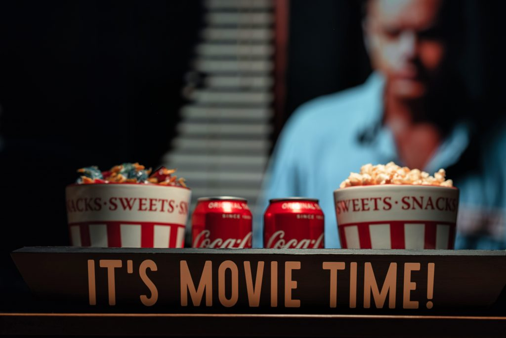 Movie Snack Tray makeover project