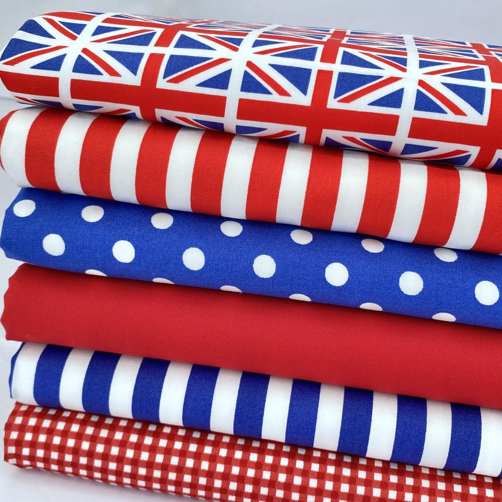 """Patriotic Union Jack bundle from """"Always Knitting and Sewing"""" www.alwaysknittingandsewing.com"""